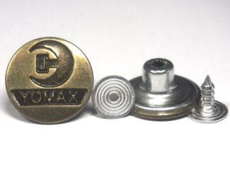 17mm Yomax Jean Studs