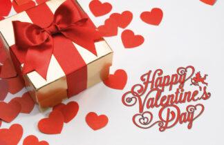 Valentines Gift Parcel Cards
