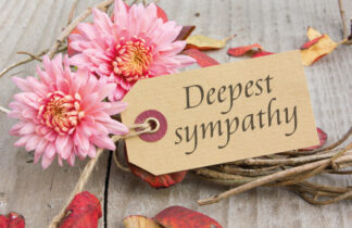 Deepest Sympathy - Pink Flower
