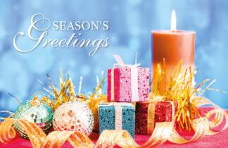 Seasons Greetings - Candles
