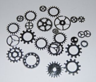 Mixed Pack 7 Steampunk Cogs