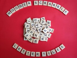 Letter Scrabble Tiles