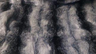 Black wolf striped fur celloexpress