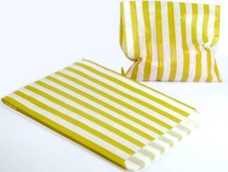 "5"" X 7"" - Mustard Sweet Bags"