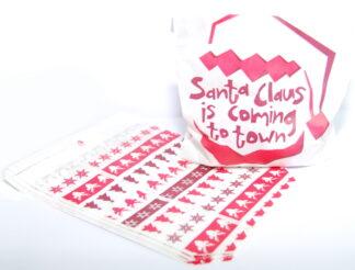 "5"" x 7"" - Santa Claus Sweet Bag"