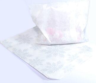 """7"""" X 9"""" - White Snowflakes Sweet"""