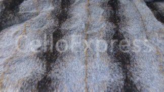 brown striped wolf fur celloexpress
