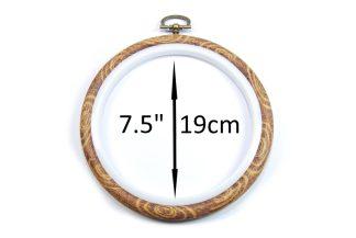 19cm flexi embroidery hoop celloexpress