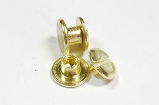 4mm Gold Chicago Screws
