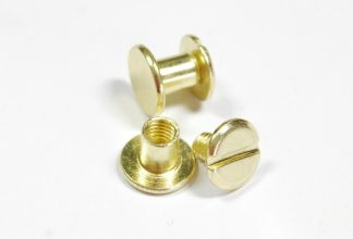 6mm Gold Chicago Screws