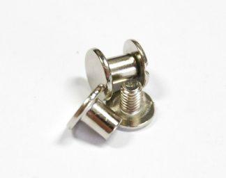 6mm Silver Chicago Screws