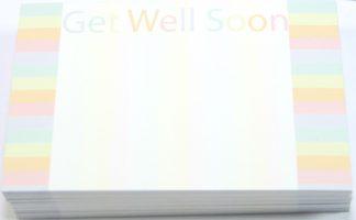 Get Well Soon - Rainbow florist cards celloexpress