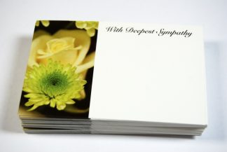 Deepest Sympathy - Yellow Flowers