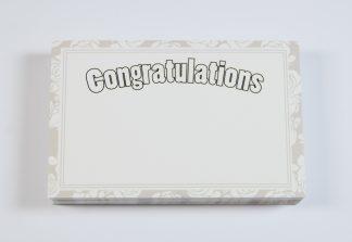 Congratulations - White
