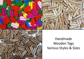 Wooden Handmade Tags